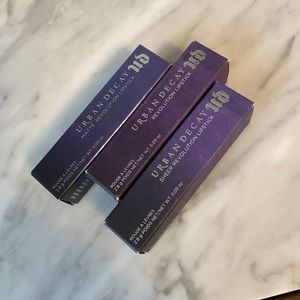 Urban Decay Lipstick Bundle